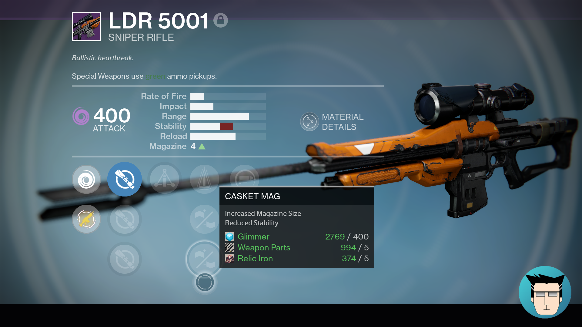 """""""Miracle"""" god roll PVE sniper 