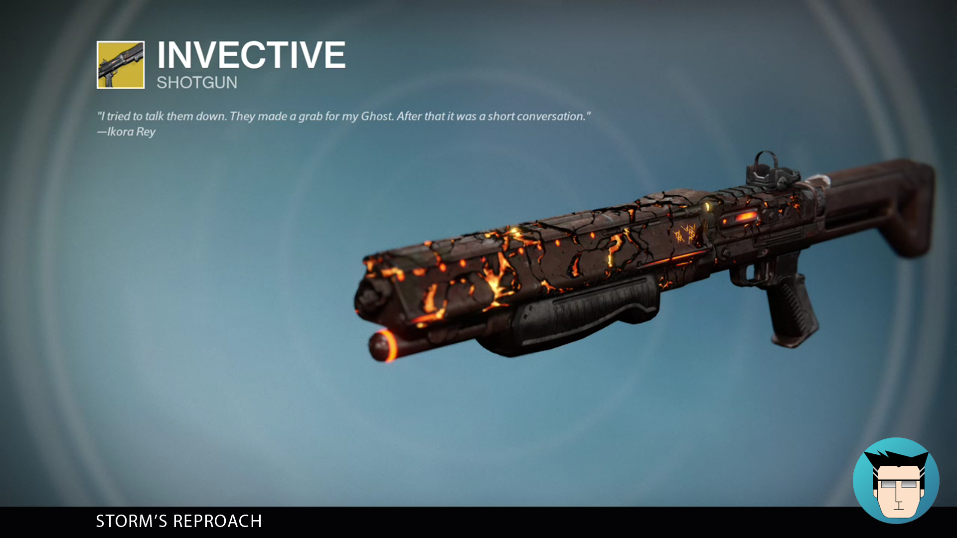 INVECTIVE | STORM'S REPROACH