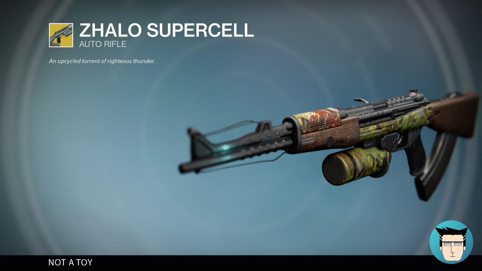 ZHALO SUPERCELL | NOT A TOY